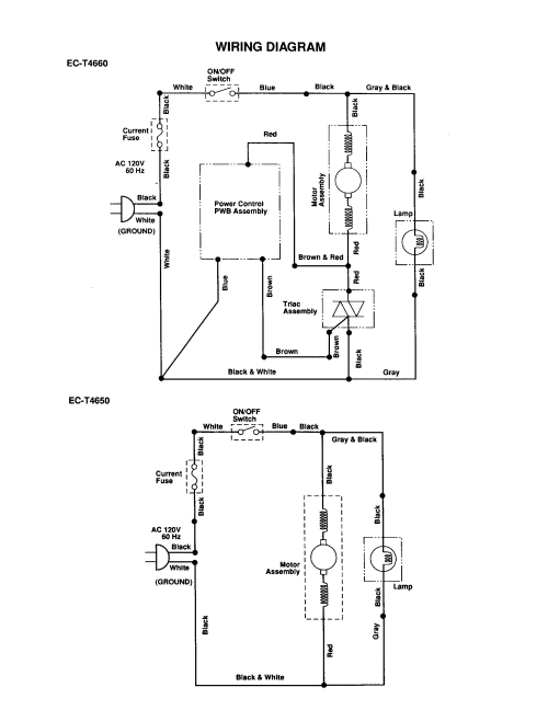 small resolution of vacuum cleaner wiring diagrams wiring diagram centresharp upright vacuum cleaner parts model ec t4660 sears partsdirect