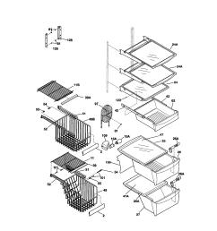 kenmore 25351699100 shelves diagram [ 1696 x 2200 Pixel ]