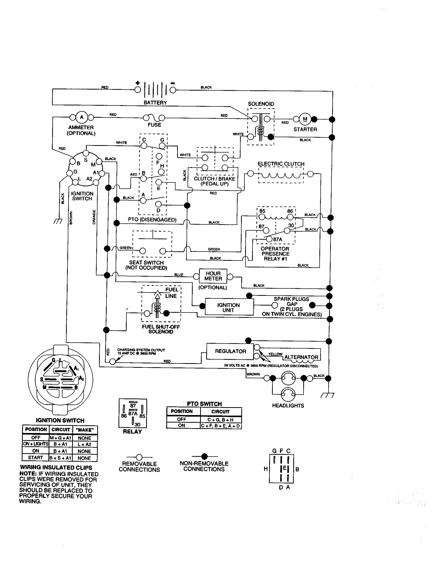 Craftsman lawn tractor parts model 917273070 sears partsdirect rh searspartsdirect kohler engine wiring diagrams kohler ignition wiring diagram