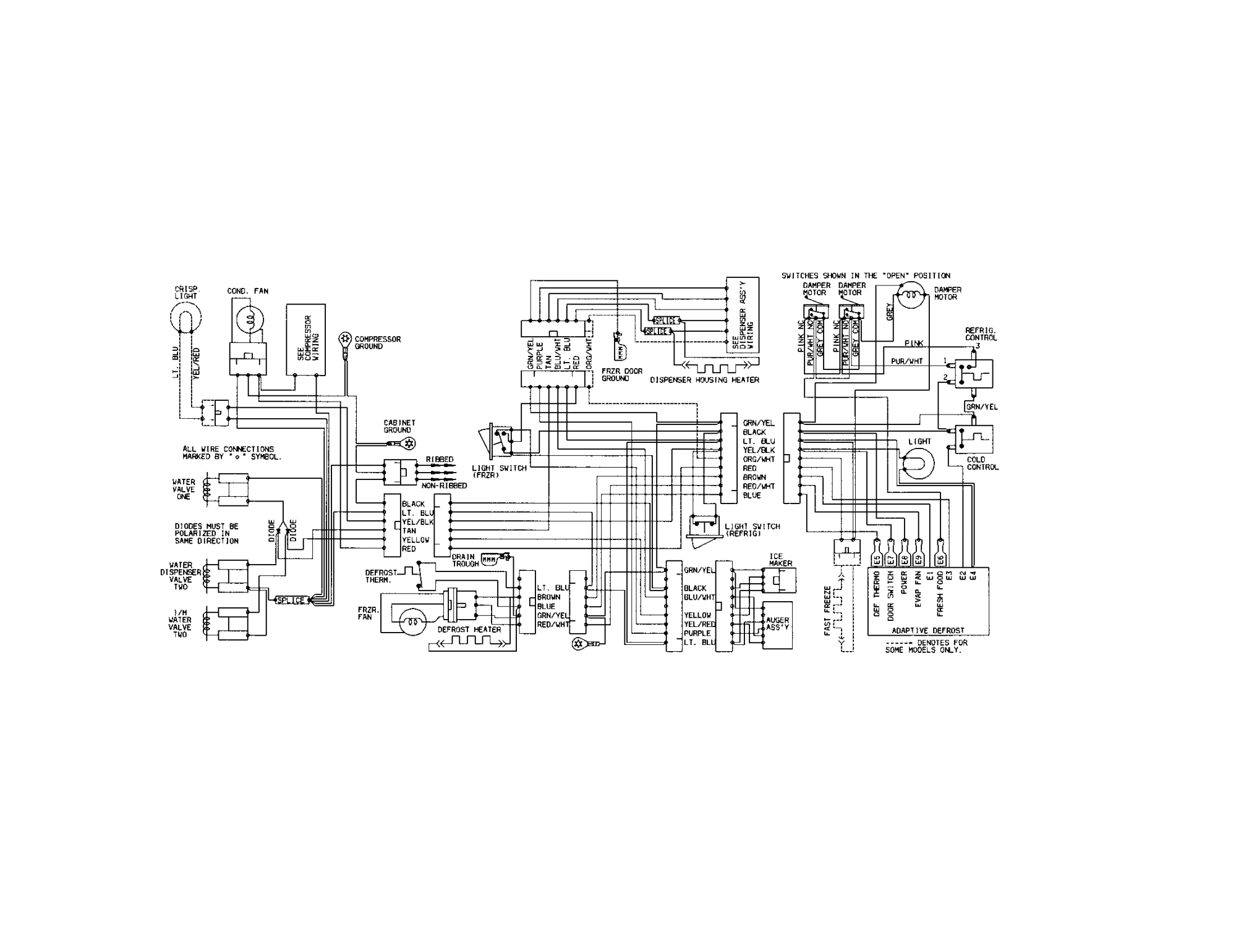 hight resolution of kenmore refrigerator wiring diagram