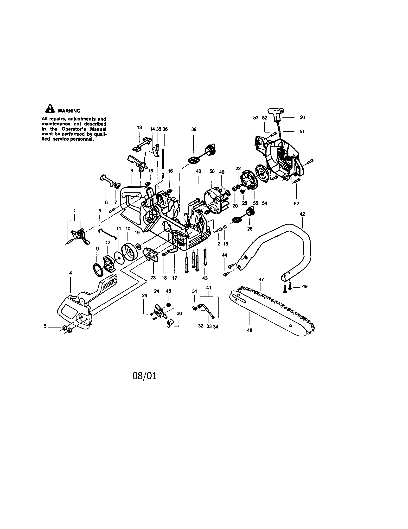 craftsman 42cc chainsaw carburetor engine diagram