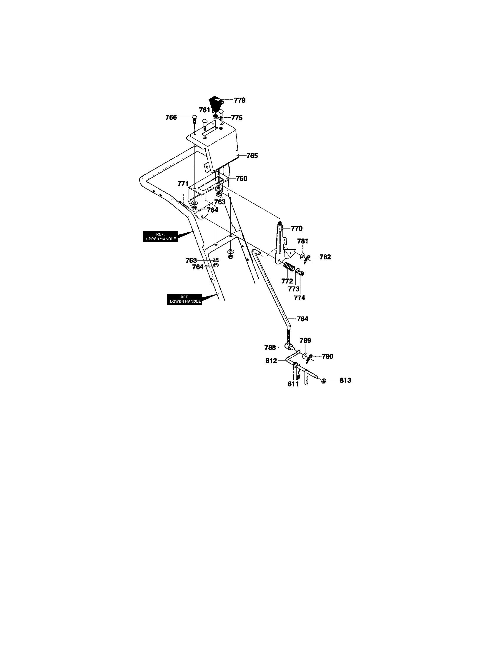 hight resolution of craftsman 536886480 control panel diagram