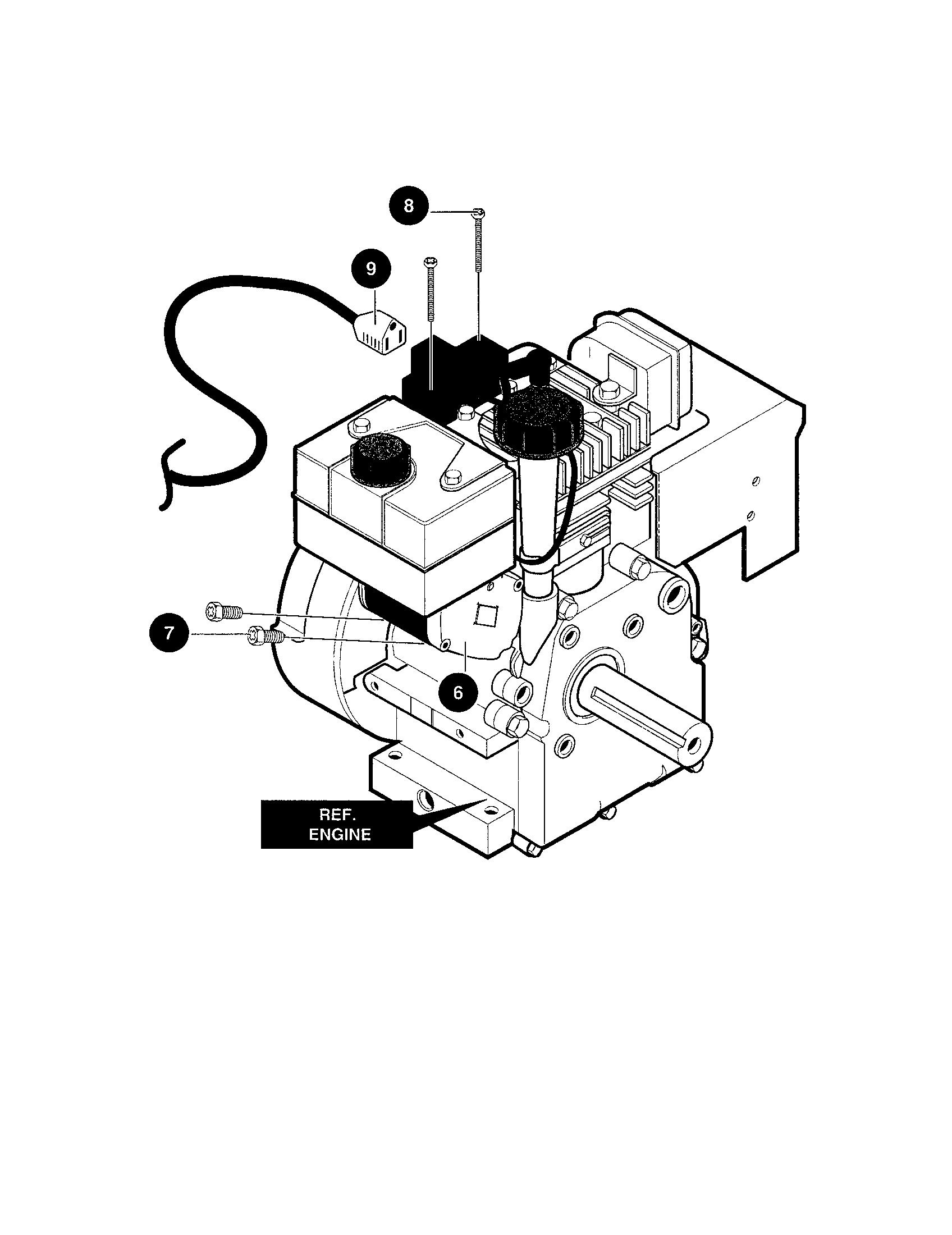 hight resolution of craftsman 536886480 electric starter diagram