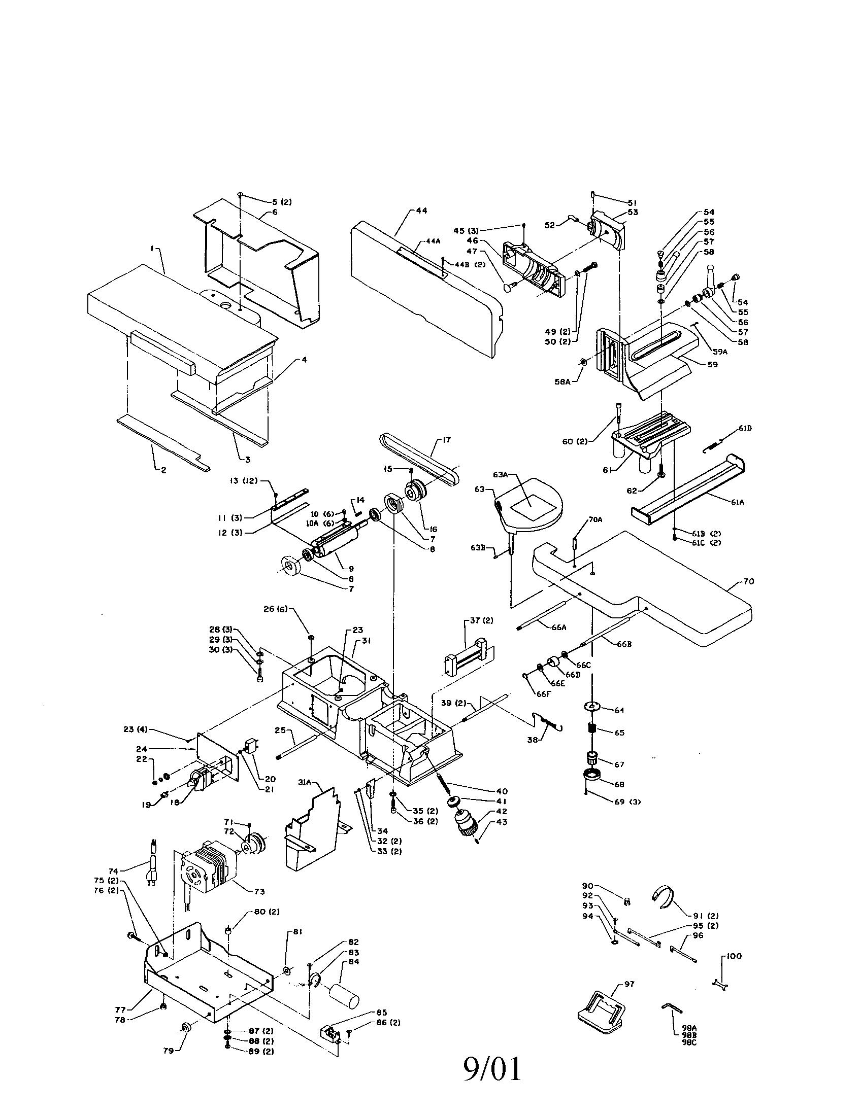 Delta Jointer Wiring Diagram Dewalt Planer Wiring Diagram