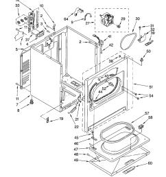 gas dryer parts diagram images gallery [ 1696 x 2200 Pixel ]