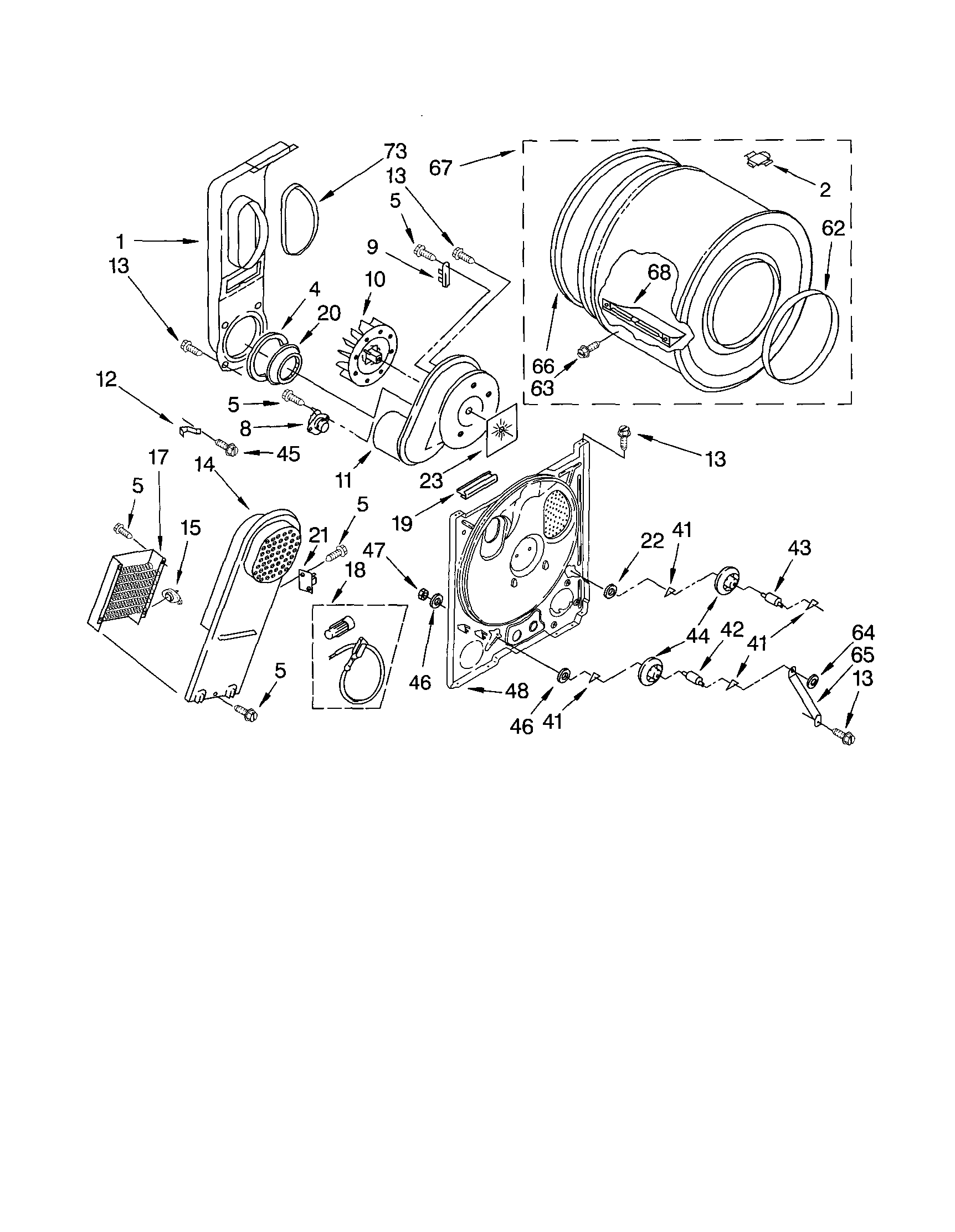kenmore dryer operating thermostat start stop inch wiring diagram bulkhead and parts list for model 11062202101