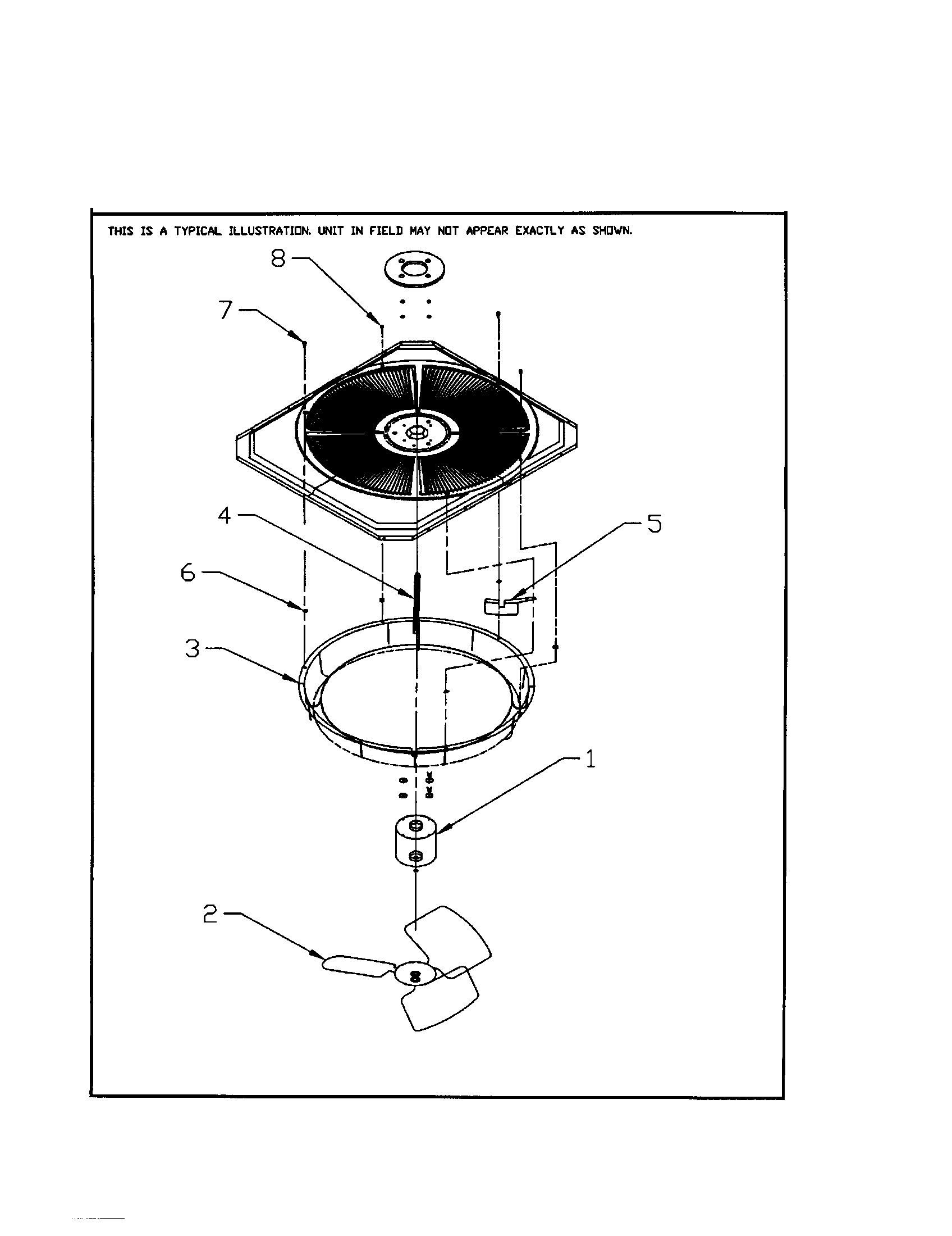 AIR SYSTEM Diagram & Parts List for Model TTX048D100A0