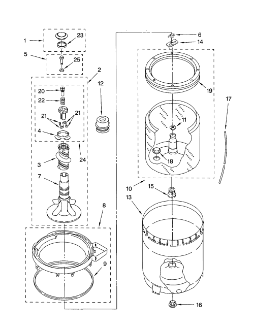 small resolution of kenmore model 11023812100 residential washers genuine parts washing machine parts diagram on wiring
