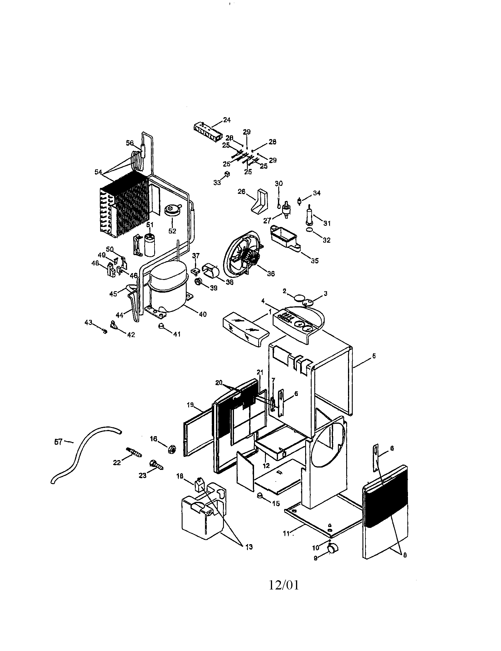 Dehumidifier Parts Diagram, Dehumidifier, Free Engine
