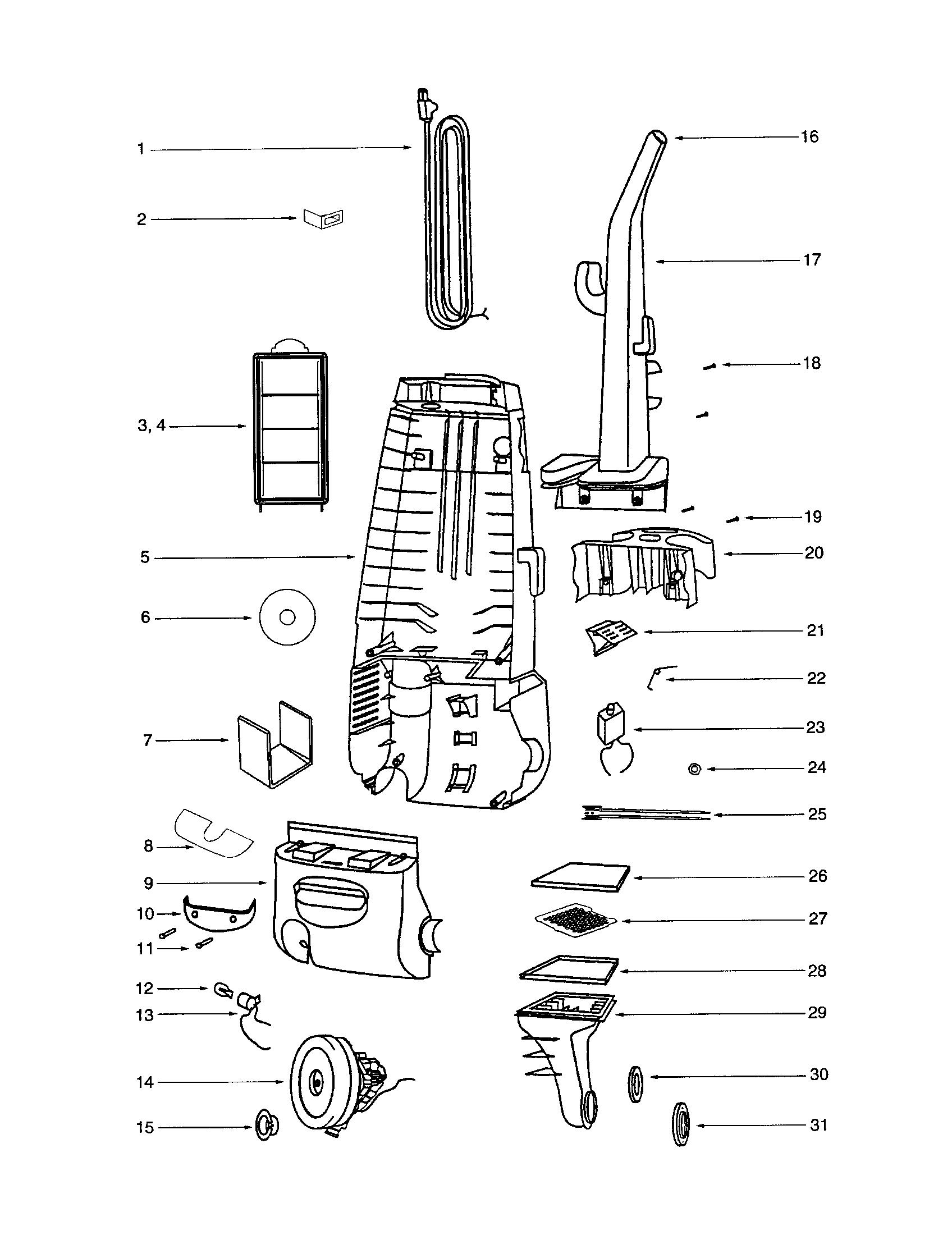 Vacuum Parts: Vacuum Parts For Eureka