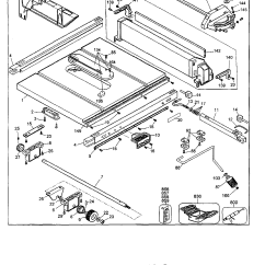 Dewalt Table Saw Parts Diagram 2006 Pontiac G6 Car Stereo Radio Wiring Dw124 27 Images
