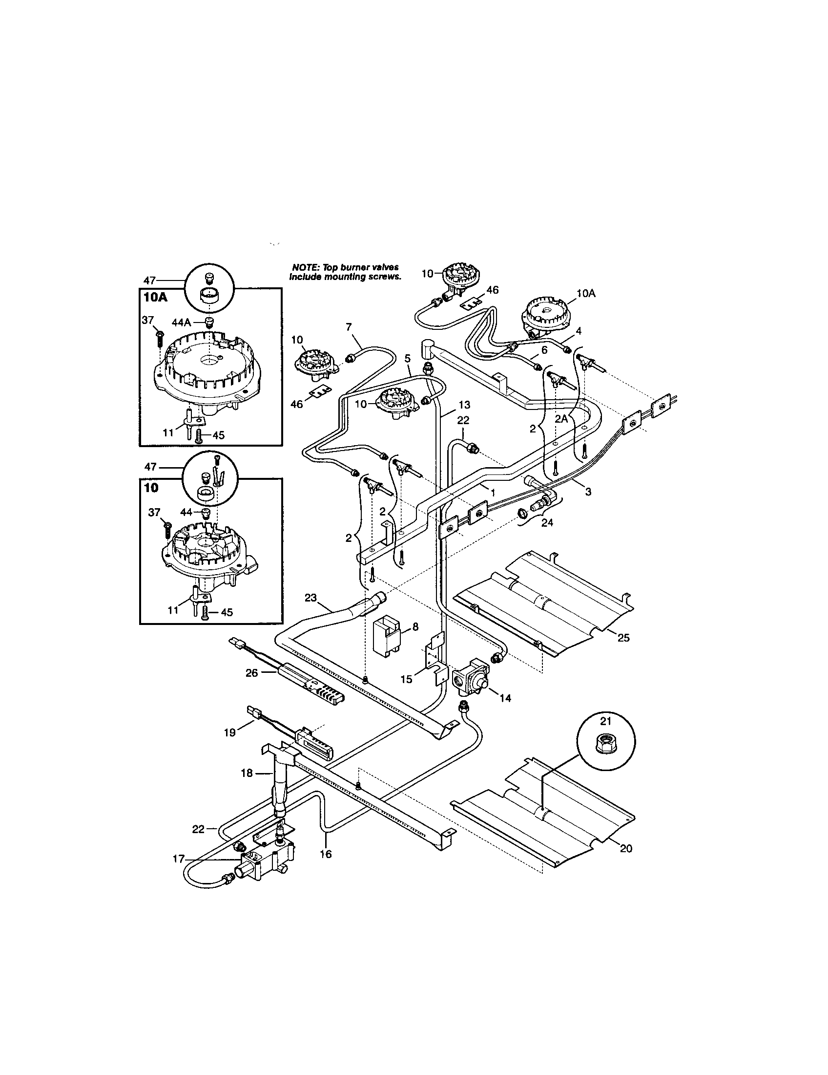 kenmore range parts diagram ryobi trimmer fuel line model number location get free image about