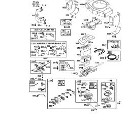 briggs stratton model 42e707 2275 e1 engine genuine parts rh searspartsdirect com briggs stratton small engine diagram briggs and stratton electrical  [ 1696 x 2200 Pixel ]