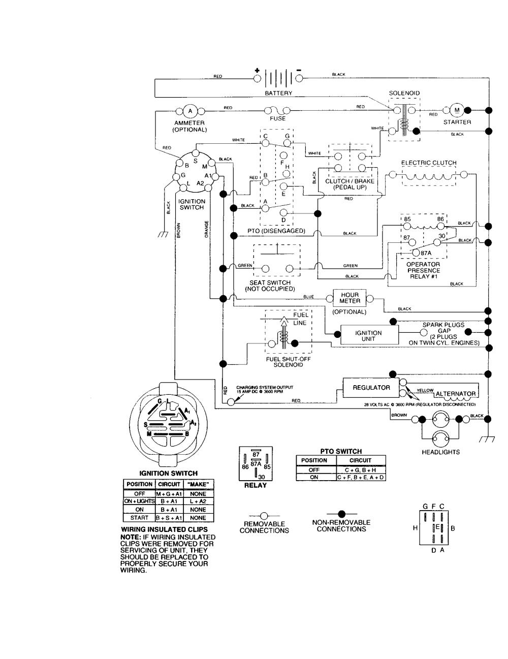 medium resolution of craftsman lt1000 wiring craftsman free engine image for user manual