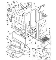 kenmore 11073942101 cabinet diagram [ 1696 x 2200 Pixel ]