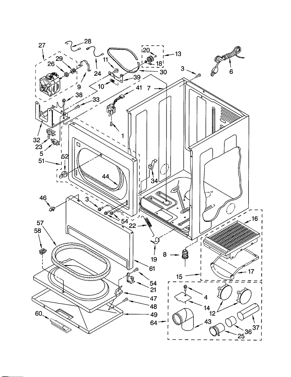 medium resolution of wiring diagram for kenmore heating element 3387747 wiring diagrams wiring diagram for kenmore heating element 3387747