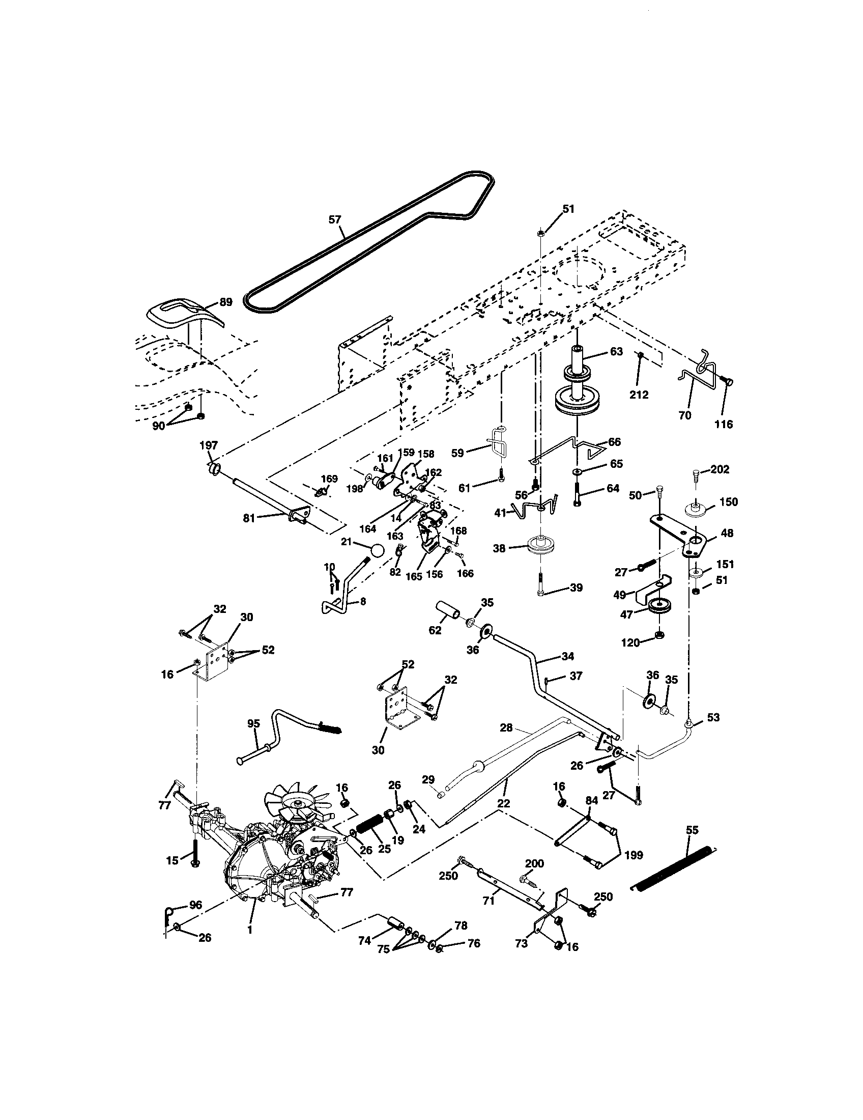 GROUND DRIVE Diagram & Parts List for Model 917272462