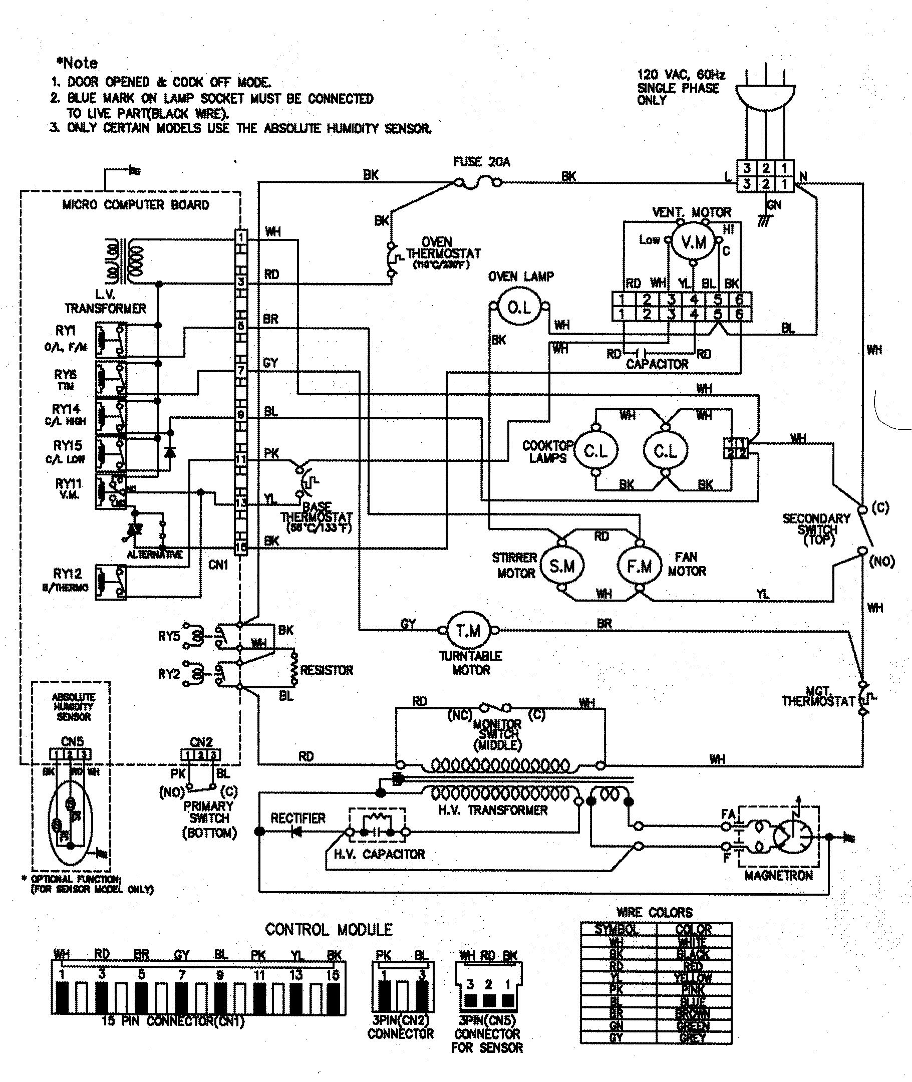 [DIAGRAM] Wiring Diagram Of A Microwave Oven FULL Version