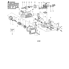 Craftsman Chainsaw Carburetor Diagram 2002 Ford Windstar Serpentine Belt Parts Model 358351990 Sears Partsdirect