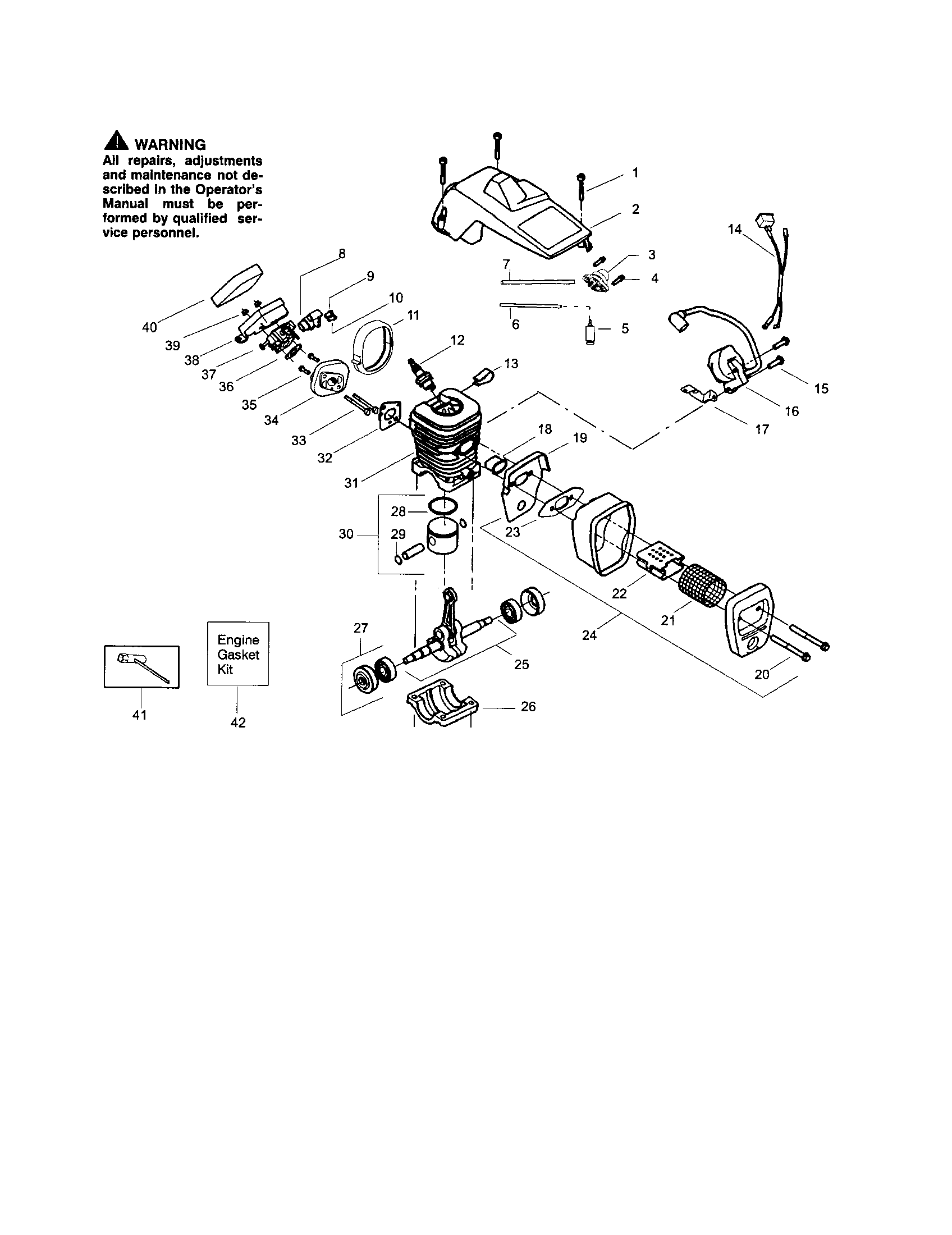 craftsman chainsaw carburetor diagram 98 jeep grand cherokee stereo wiring chain saw wt 391 5300697 parts