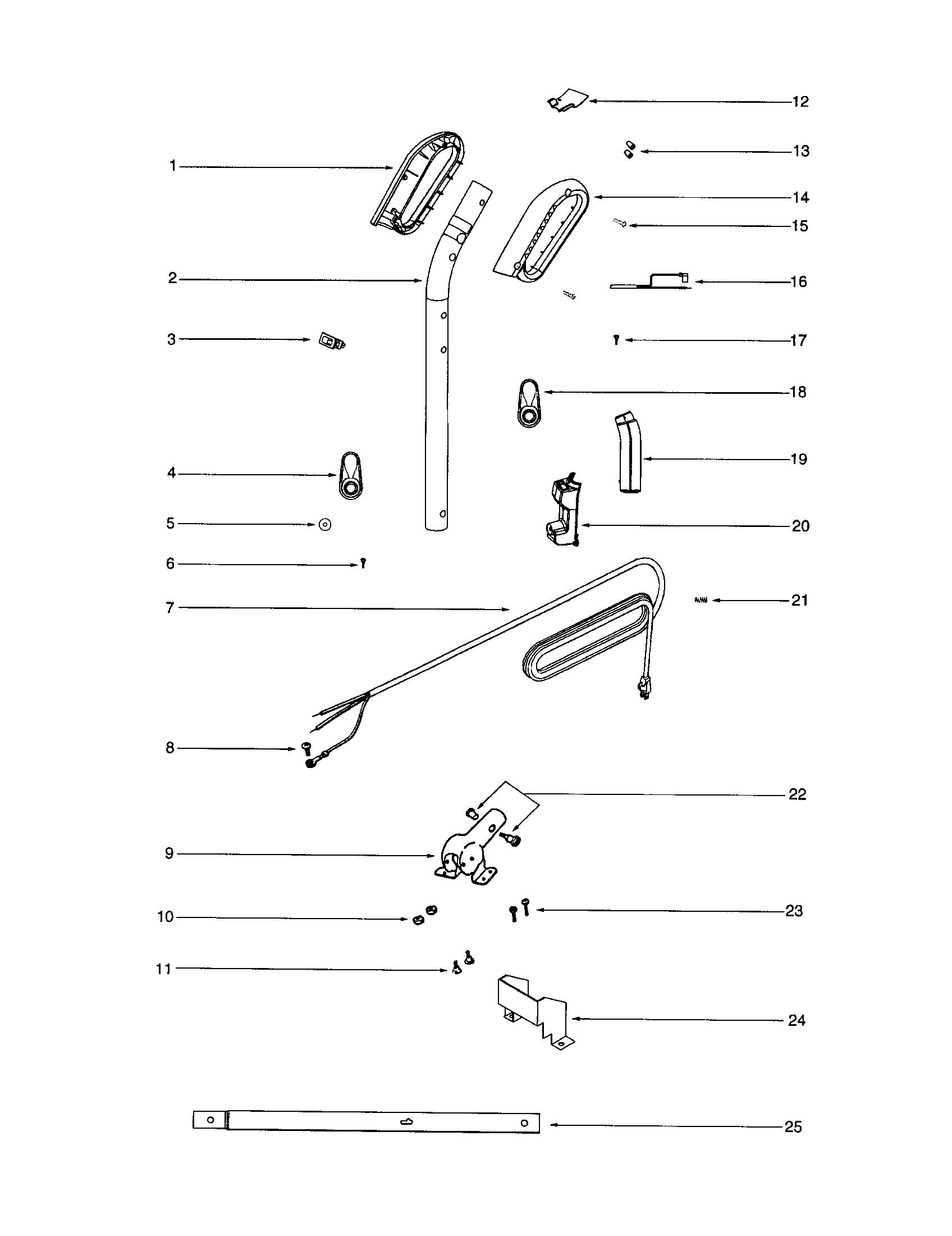 Vacuum Parts: Sanitaire Vacuum Parts
