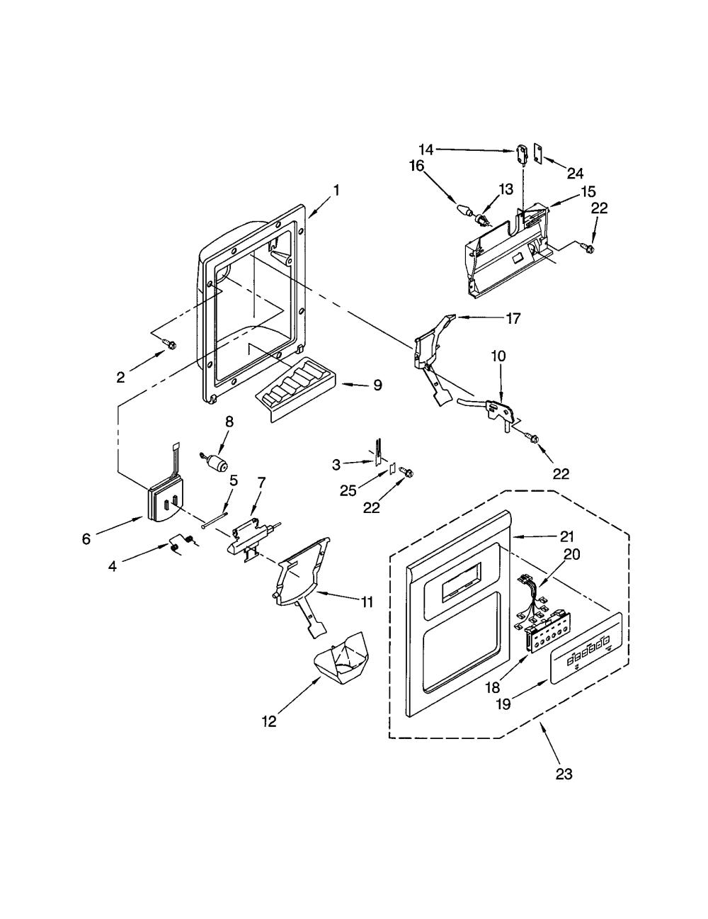 medium resolution of wiring diagram whirlpool refrigerator ice maker wiring frigidaire ice maker wiring diagram frigidaire discover your on