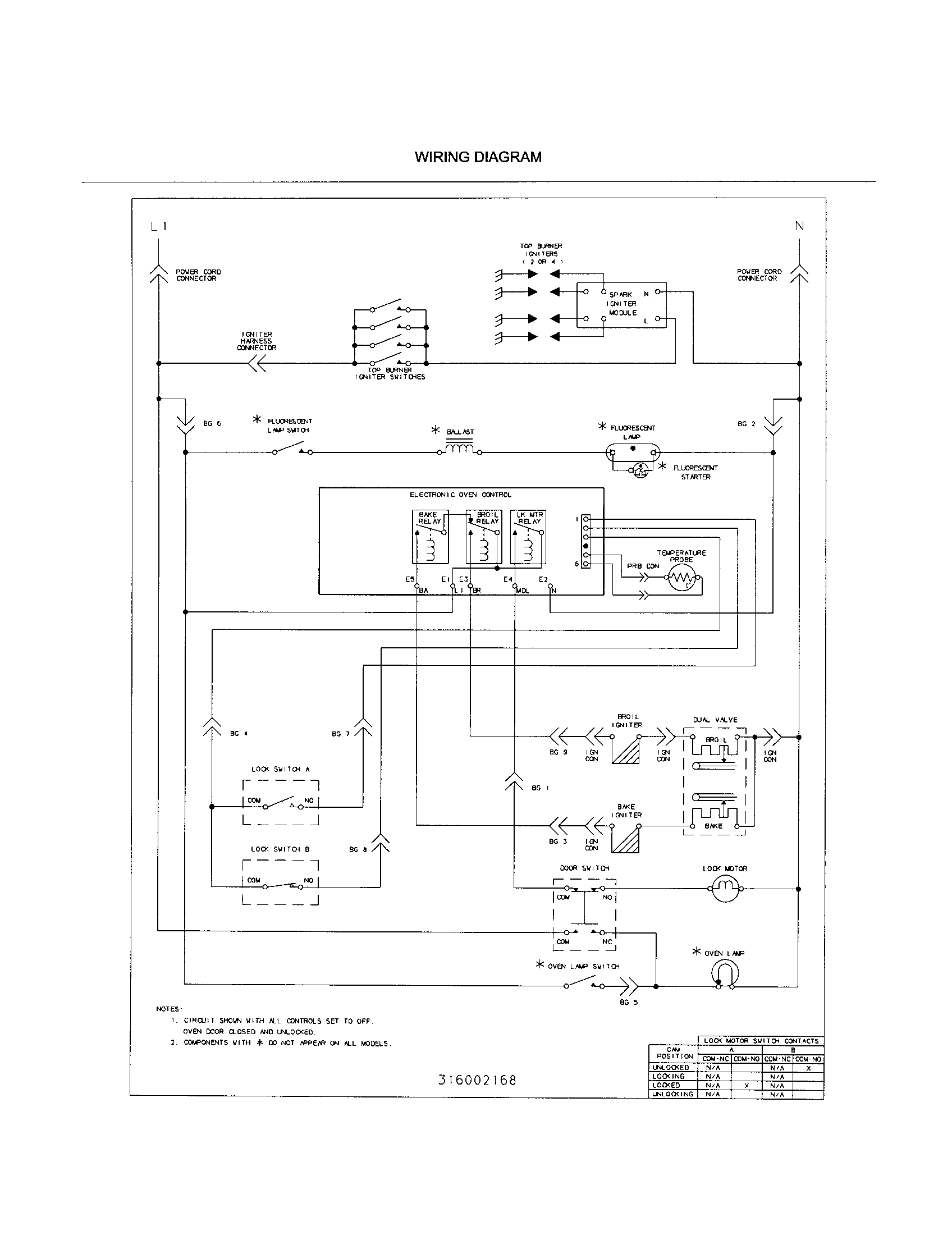 hight resolution of flourescent starter schematic