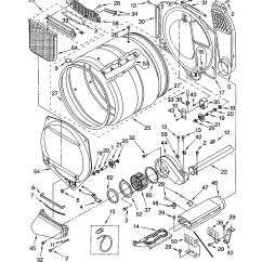 Kenmore 70 Series Washer Diagram Plot Fill In Whirlpool Duet Thermal Fuse Location Estate Dryer