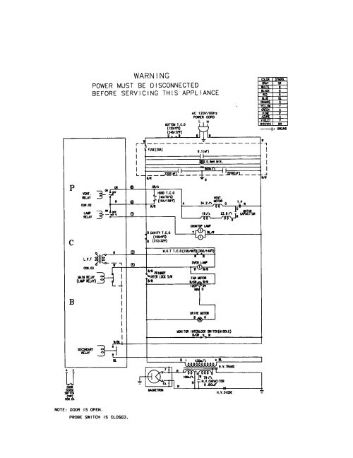 small resolution of frigidaire fmt148gpb1 wiring schematic i diagram