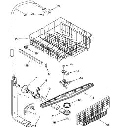 kenmore elite dishwasher parts diagram together with kenmore kenmore elite dryer wiring  [ 1696 x 2200 Pixel ]