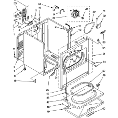 Kenmore Electric Dryer Parts Diagram 2003 Harley Davidson Wiring Cabinet Model 11064812200