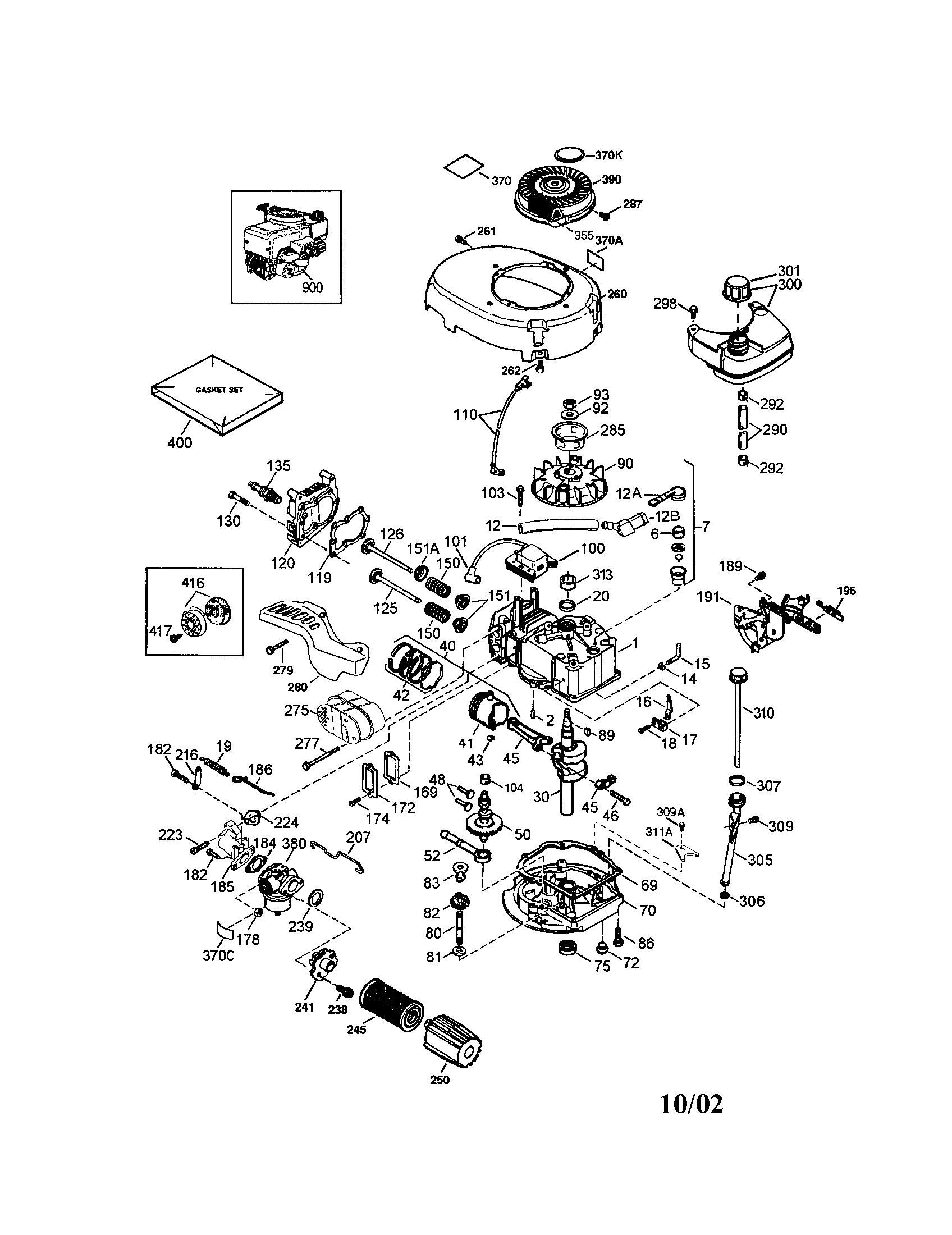 Motor Parts: Tecumseh Motor Parts