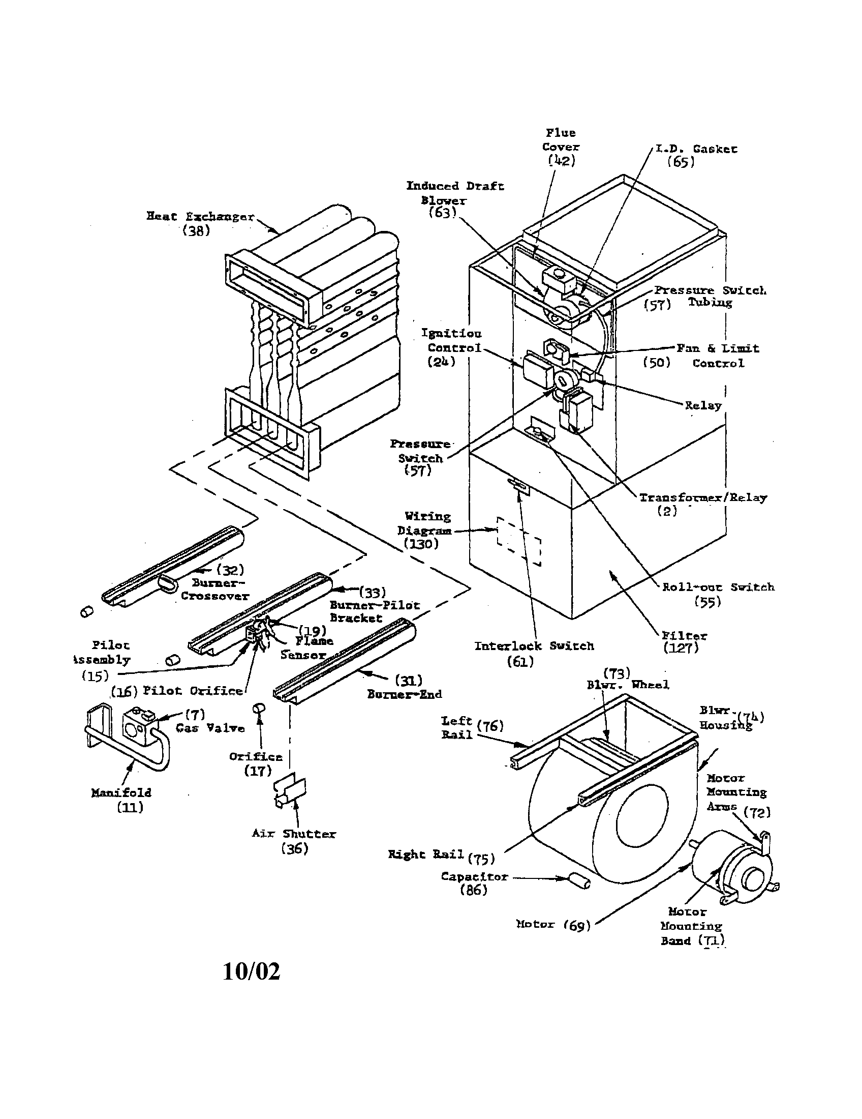 Intertherm Furnace Part Diagram