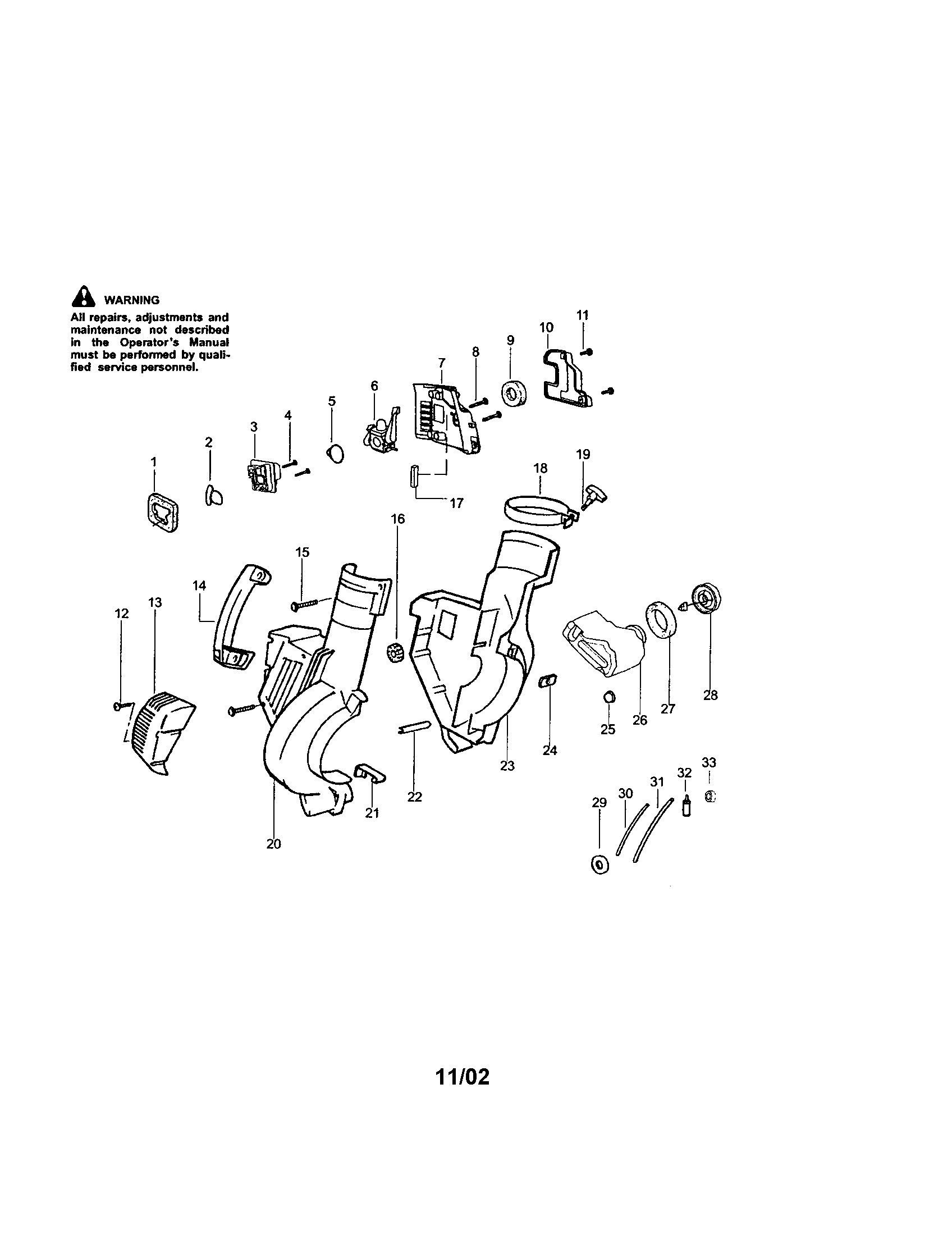 CRAFTSMAN Gas Blower Carburetor #530071465 (c1 Parts