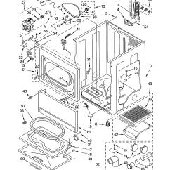 Kenmore Electric Dryer Parts Diagram Cummins Isx Engine Cabinet Model 11063952102