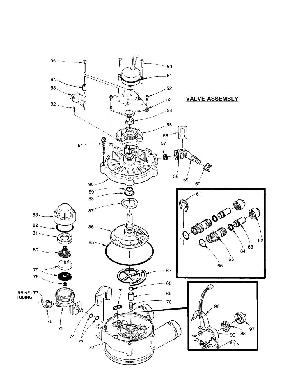 medium resolution of kenmore 625348450 valve assembly diagram