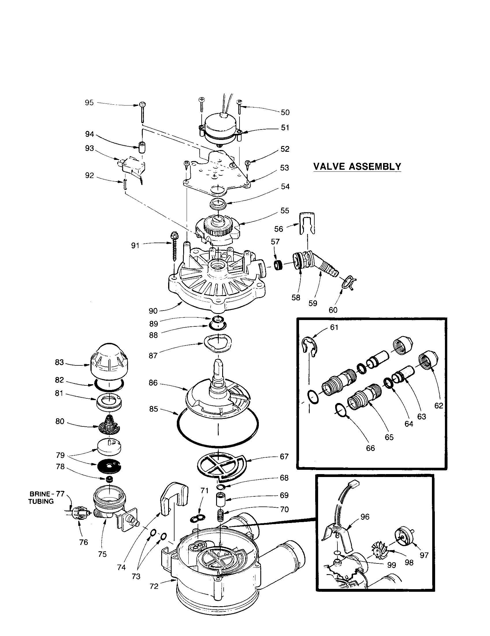 hight resolution of kenmore 625348450 valve assembly diagram