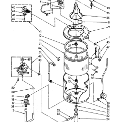 Whirlpool Washer Parts Diagram 2002 Chevy S10 Alternator Wiring Automatic Model La5700xkw0