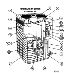 Ac Condenser Fan Motor Wiring Diagram Programmable Room Stat Trane A C Parts Library Of