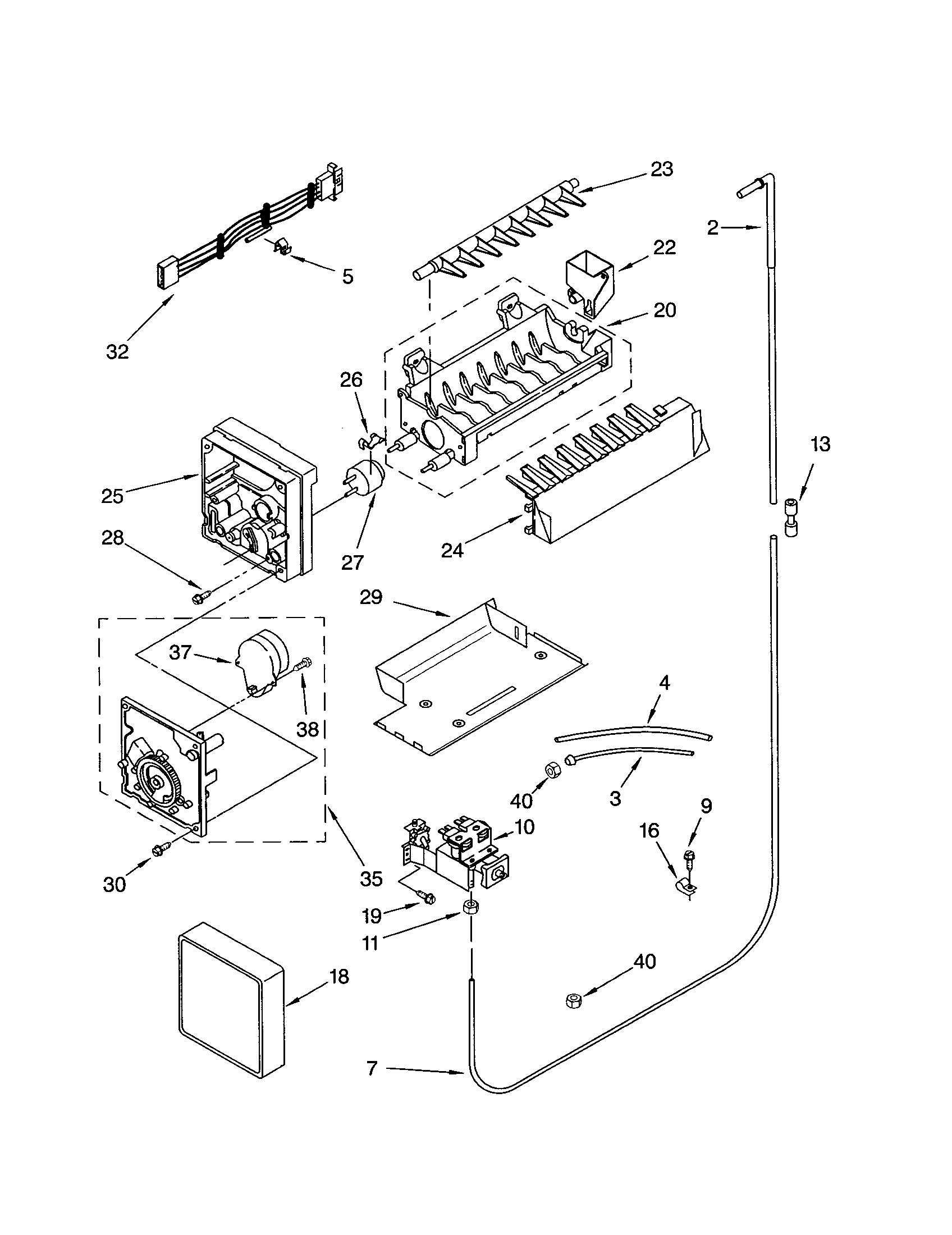 how a freezer works diagram 3 way wiring diagrams refrigerators parts refrigerator door