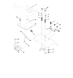 electrical craftsman 917273480 seat assembly diagram [ 1696 x 2200 Pixel ]