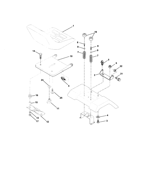 small resolution of electrical craftsman 917273480 seat assembly diagram