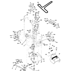 Husqvarna Lawn Tractor Parts Diagram 1990 Ford Ranger 26 Mower Deck Diagrams Free Engine