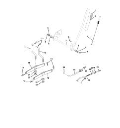 craftsman 917273160 lift assembly diagram [ 1696 x 2200 Pixel ]