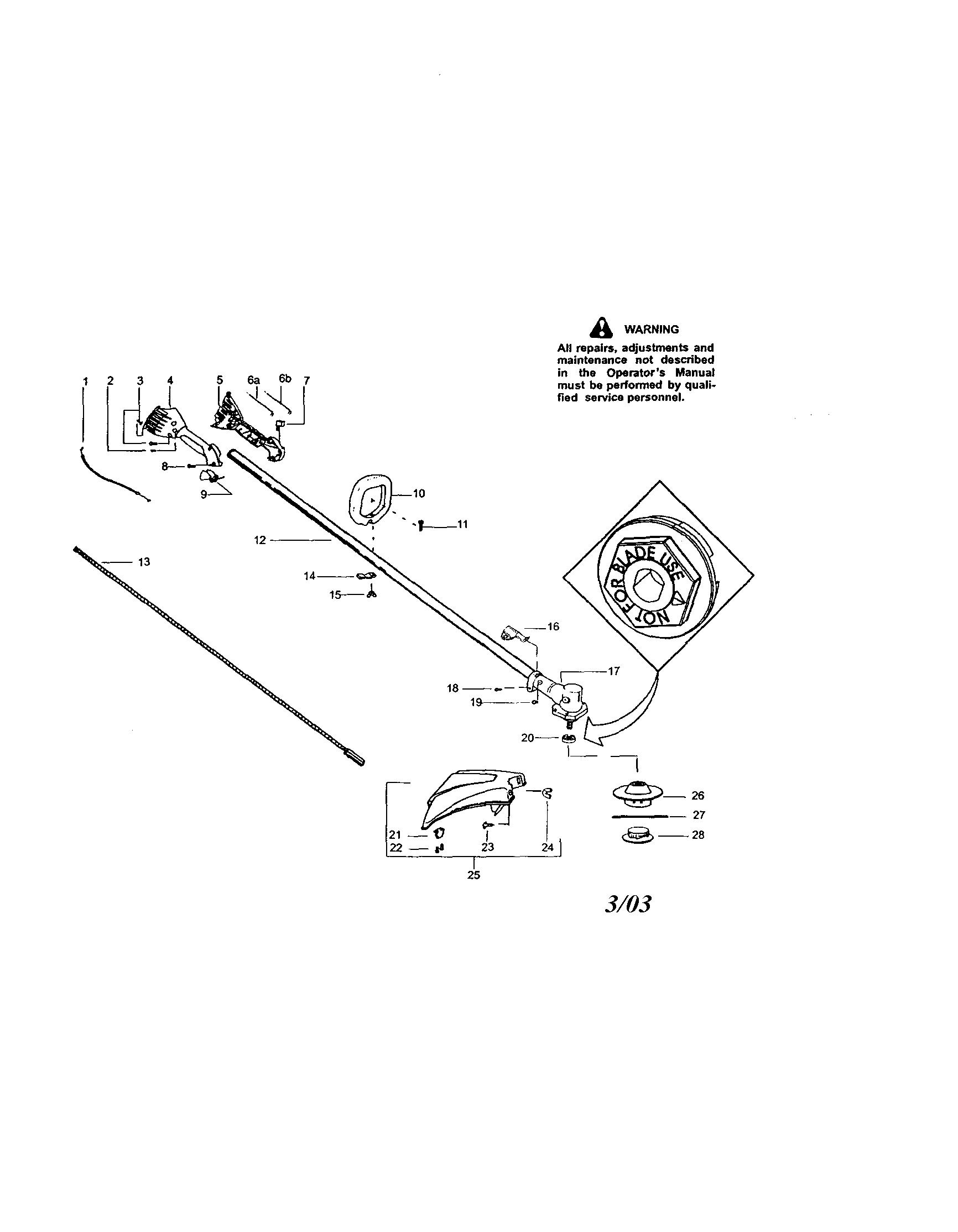 weed eater fuel line replacement diagram minn kota riptide wiring craftsman sears weedwacker parts model 358795560