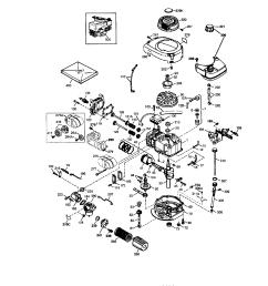 craftsman 143034504 tecumseh engine diagram [ 1696 x 2200 Pixel ]