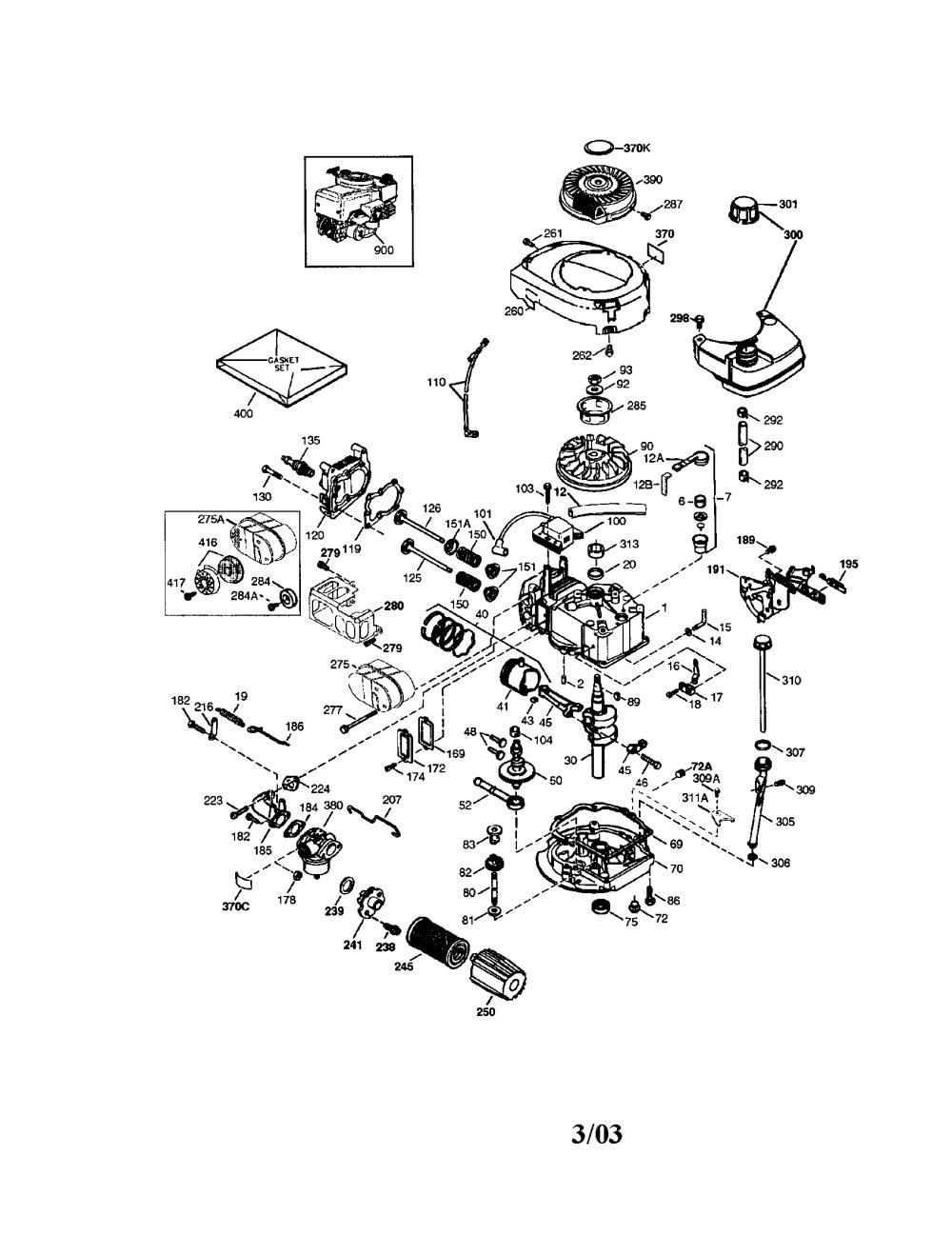 medium resolution of craftsman 143034504 tecumseh engine diagram