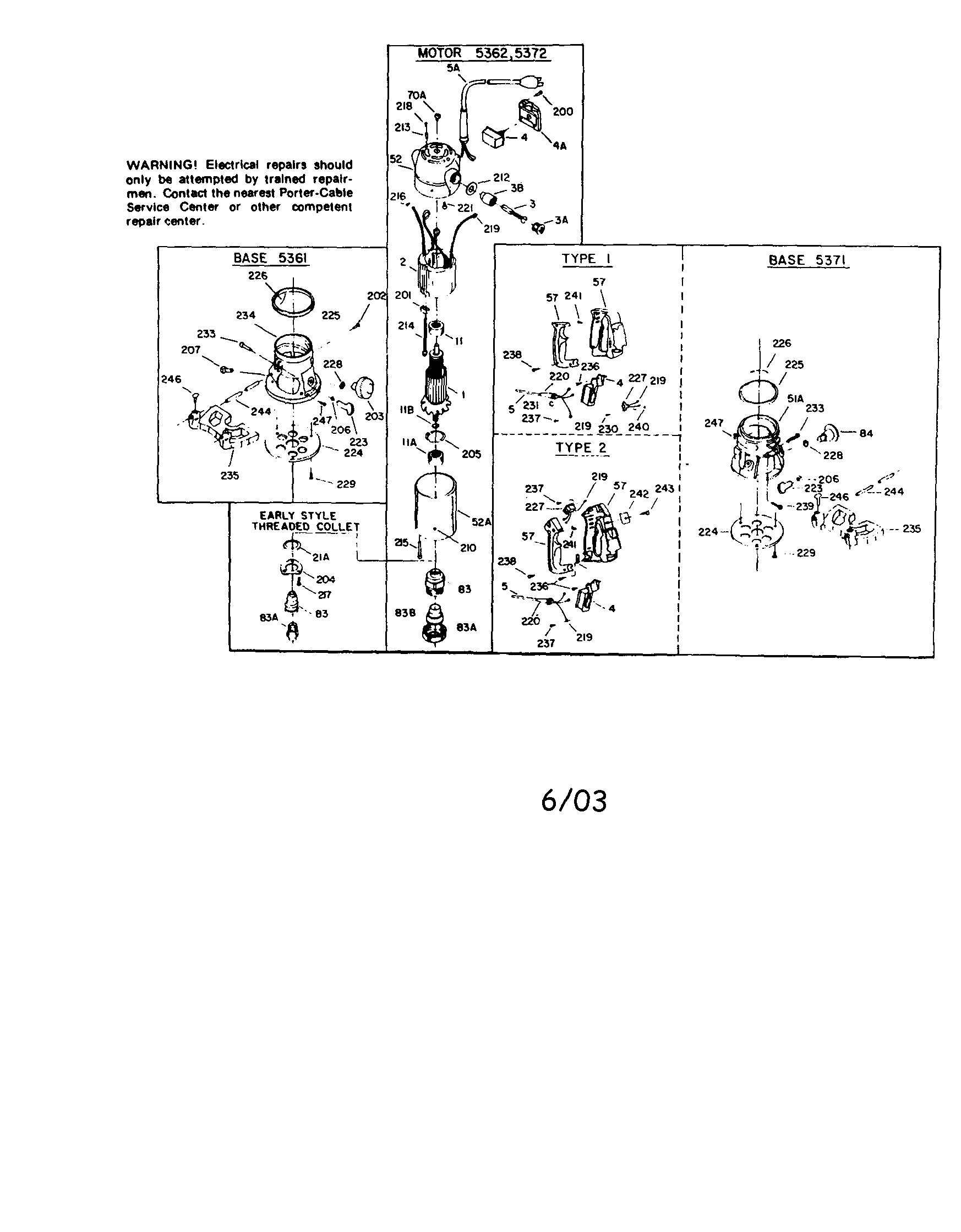 Rockwell Router Model 5141 Wiring Diagram,Router