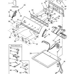 Kenmore Dryer Model 110 Wiring Diagram Diagrams For Guitar Humbuckers Electric Parts 11064982300 Sears