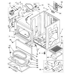 kenmore 11064994300 cabinet diagram [ 1696 x 2200 Pixel ]